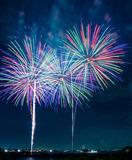 Tűzijátékok a Balatonnál